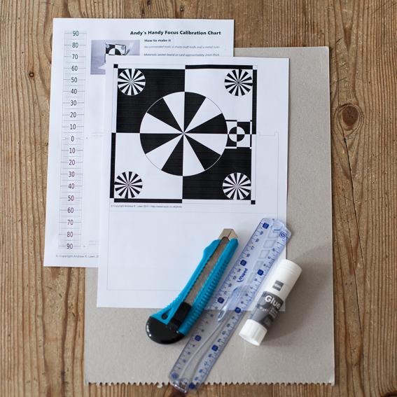 Diy Lens Calibration Chart Get Sharper Images By Using