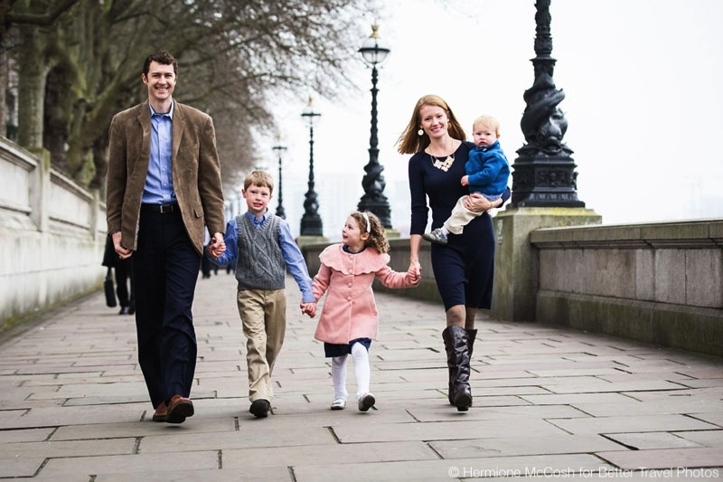 Portrait session in London for Aaron, Sarah and family 1