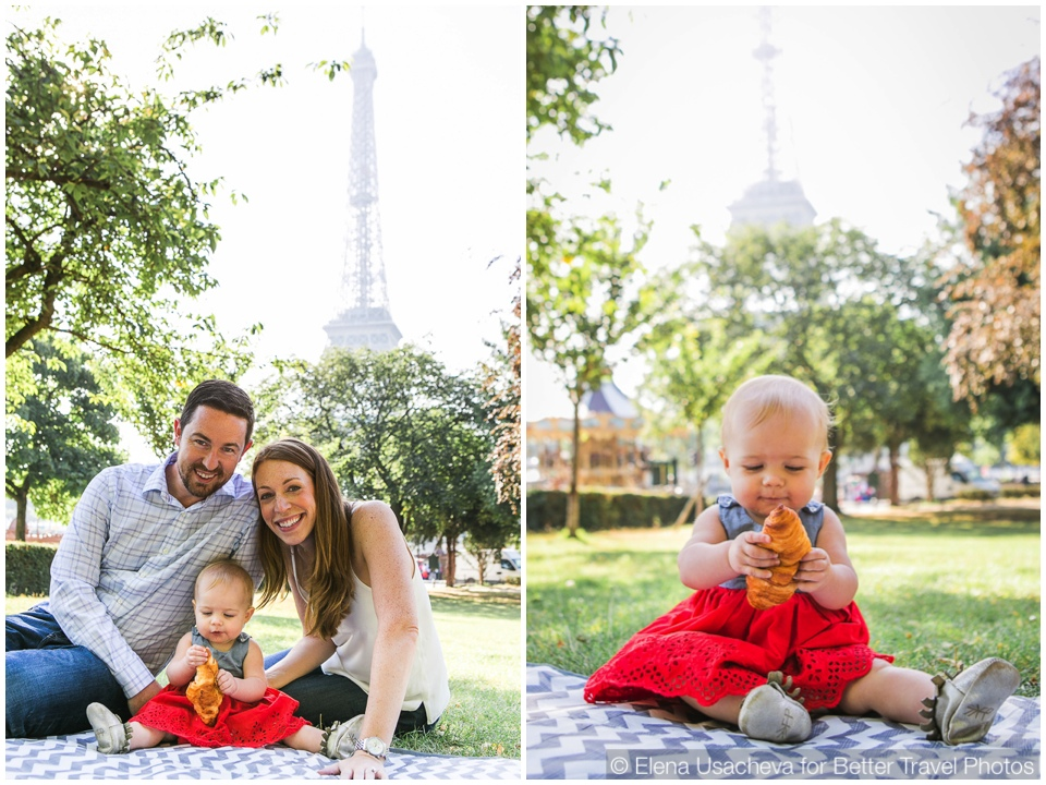 Family portrait session in Paris around the Eiffel tower 12
