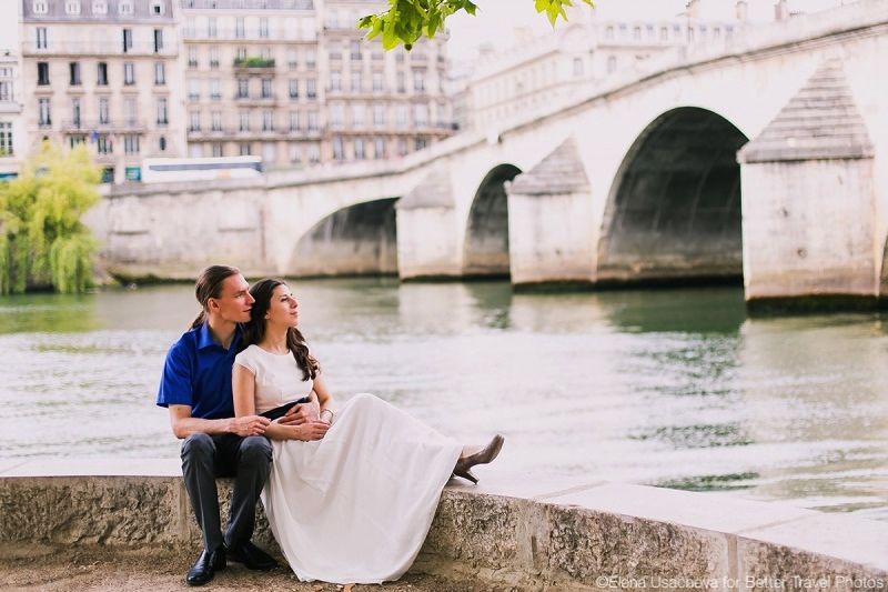 Romantic portrait session in Paris for Sergei and Nina 6