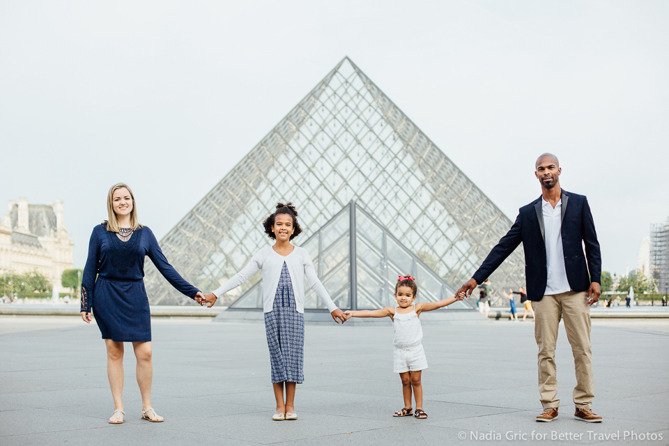 Family portrait in Paris 1