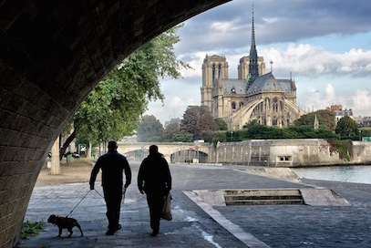 Along the River Seine, Paris