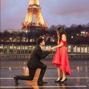 You in Paris: Elegant Engagement Portrait Session for Karen and Mario