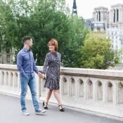 You in Paris: Elegant and Romantic Time for Barbara and Mattia