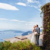 Julianne and Jason: Beautiful Elopement on Côte d'Azur
