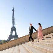 You in Paris: Romantic Sunrise Walk in Paris for Jody and Sharon