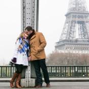 You in Paris: Romantic Surprise by the Eiffel Tower
