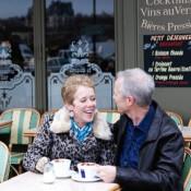 You in Paris: Thom and Sue