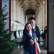 You in Paris: Romantic Time around Christmas Lights